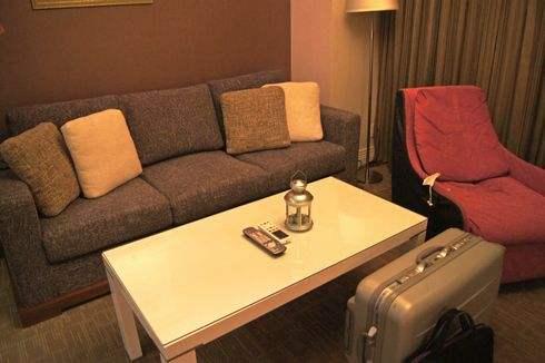 クレイトンベイホテル、ロイヤルツインの客室内