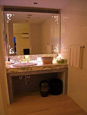 クレイトンベイホテル、ロイヤルツインの洗面所
