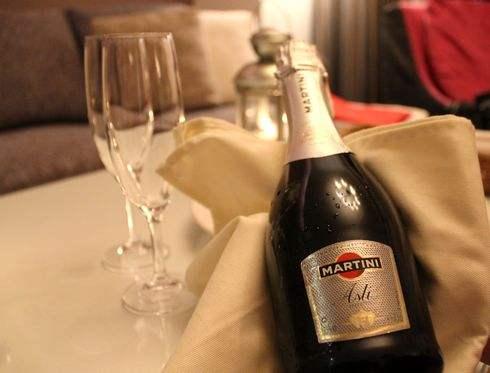 クレイトンベイホテル、シャンパン付き