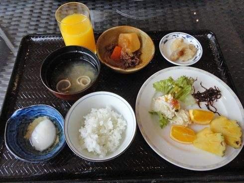 クレイトンベイホテルの朝食
