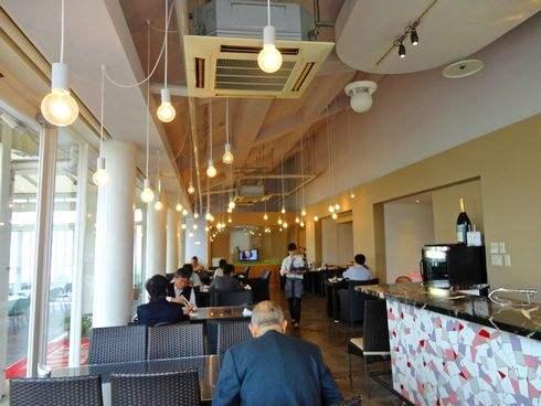 クレイトンベイホテルの朝食会場