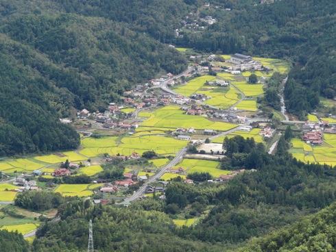 三倉岳 登山の様子 夕陽岳からの景色3