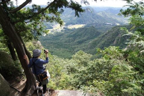 三倉岳 朝日岳の景色