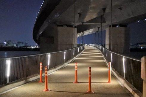 太田川大橋の歩道橋