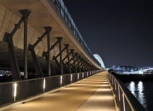太田川大橋、橋の仕組みもよくわかる