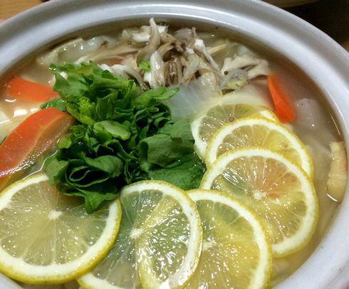 今年は塩レモン鍋が大注目!日本の冬には鍋が似合う