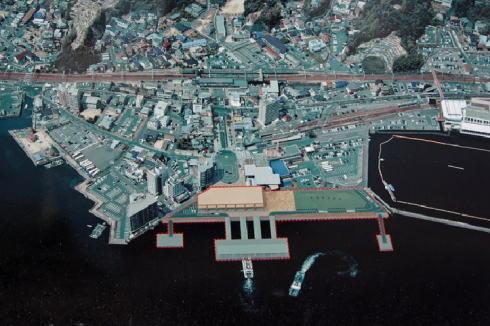 2019年厳島港 完成イメージ