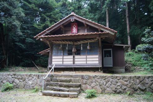 よみがえりの水 八王子神社2