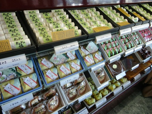 熊野 コペック の焼き菓子コーナー