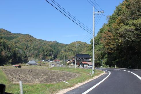 ひろしま県民の森 周辺の紅葉の様子