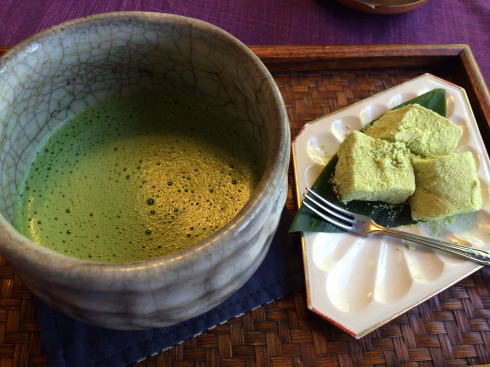 三瀧茶屋 わらび餅お抹茶セット