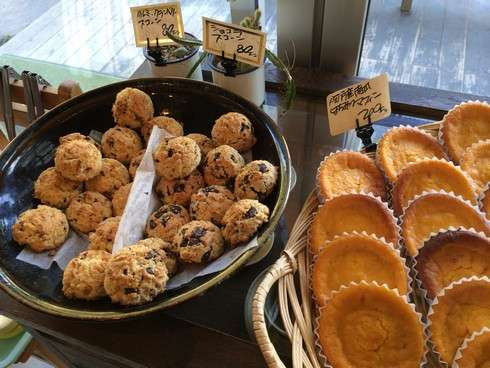 広島 山のパン屋さん、メニュー