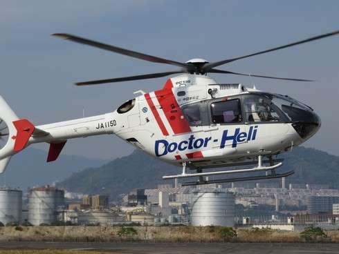 広島県ドクターヘリ、空からの救命救急!平均出動回数は月40回