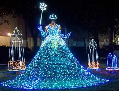 広島ドリミネーション 2014、雪の女王も登場でエルサになれる!