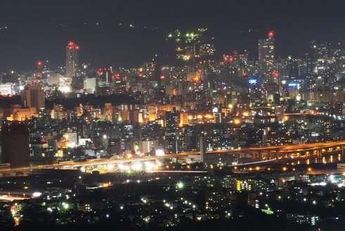 広島市内の夜景