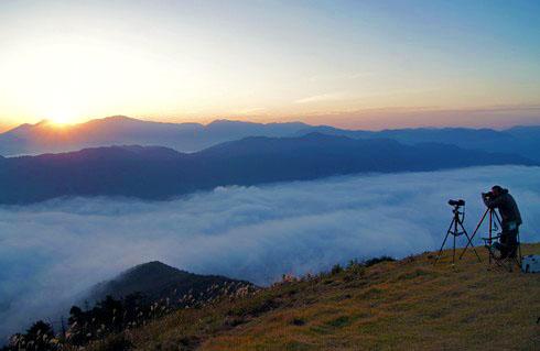荒谷山からの雲海