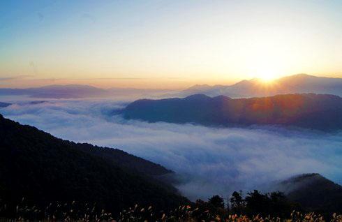 広島、美しすぎる荒谷山からの雲海