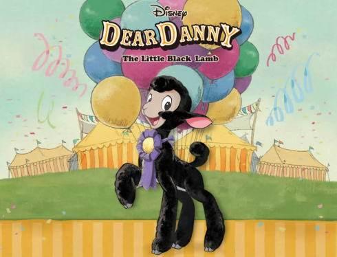 こひつじのダニー、ディズニーが羊の新キャラクターを日本限定で