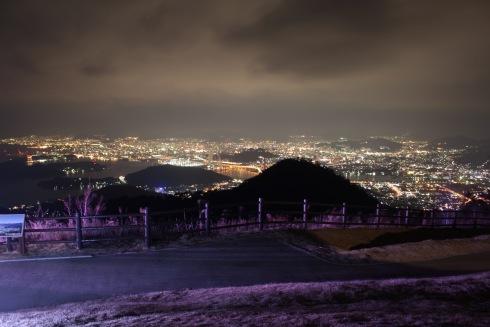 絵下山公園からの夜景 画像