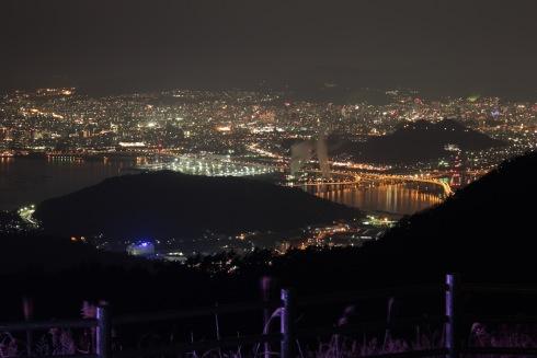 絵下山公園からの夜景 画像2