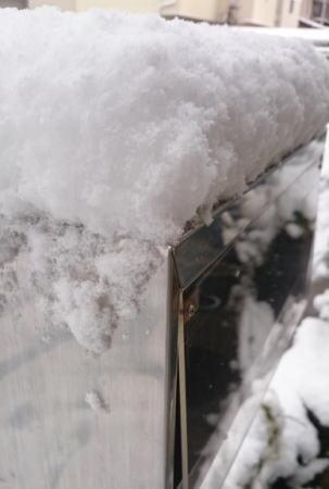 12月17日の大雪 廿日市市大野