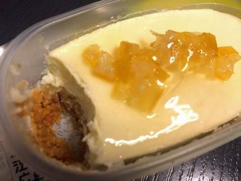 ローソンから瀬戸田レモンのチーズケーキ