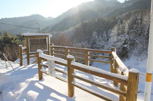 井仁の棚田 雪景色 画像3
