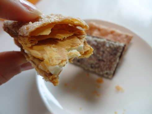 福山パイケットサンド、老舗洋菓子店 ドルセのサクサクパイ