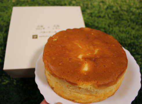 リコッタレモンバターケーキ、庄原ホテルから生まれた地元スイーツ