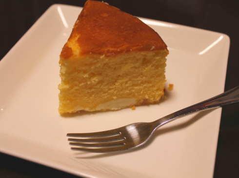 リコッタレモンバターケーキ 断面図