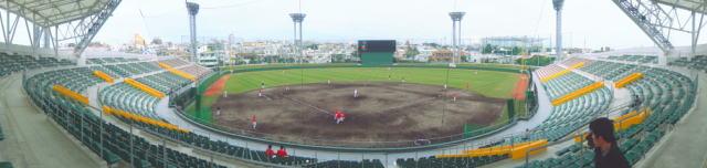 沖縄市野球場(コザしんきんスタジアム) リニューアル後2