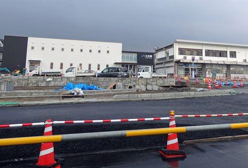 三次駅リニューアル工事風景 画像3