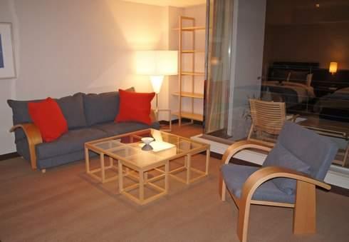 ベラビスタ境ガ浜、客室内のソファ