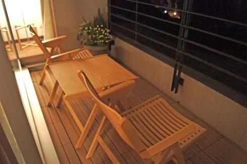 ベラビスタ境ガ浜、客室のバルコニー