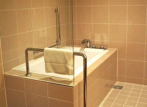 ベラビスタ境ガ浜、客室のバスルーム