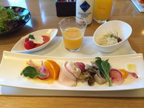 ホテル ベラビスタ境ガ浜の朝食