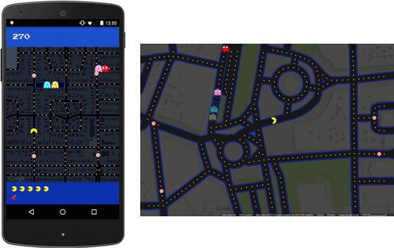 グーグルマップでパックマン!自分の街で遊べる、Googleのエイプリルフールが可愛いくてスゴイ