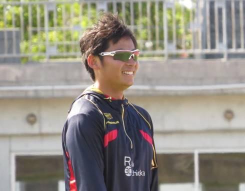 広島 一岡投手が、ゆめタウンのイベントに出演