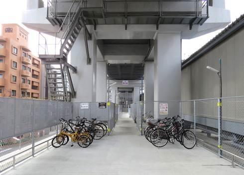 新白島駅の駐輪場の場所と料金