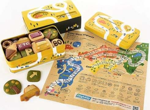 小谷サービスエリア、オープン25周年記念でアンデルセンとのコラボクッキーを販売