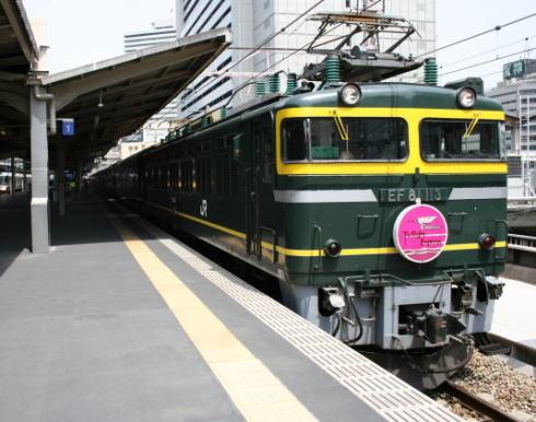 トワイライトエクスプレスが臨時列車で復活!西日本駆け抜ける