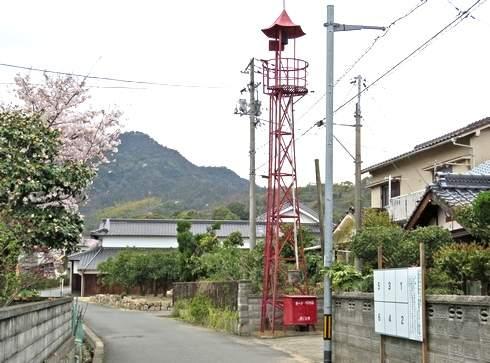 佐木島の火の見櫓