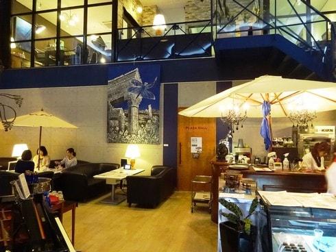 カフェ サルディーニャリゾート 店内の様子