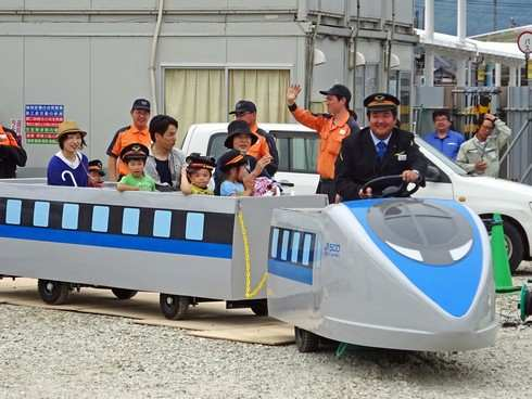 ミニ新幹線(500系)