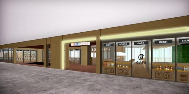 新幹線名店街 2階イメージ図