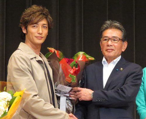 玉木宏さんと羽田福山市長