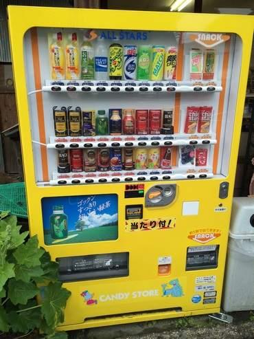 CANDY STORE 自動販売機
