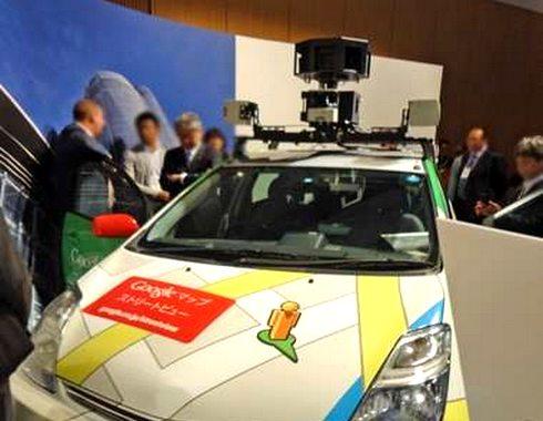 Googleストリートビューの撮影車・グーグルカーは、マップ写真をこうやって撮影していた