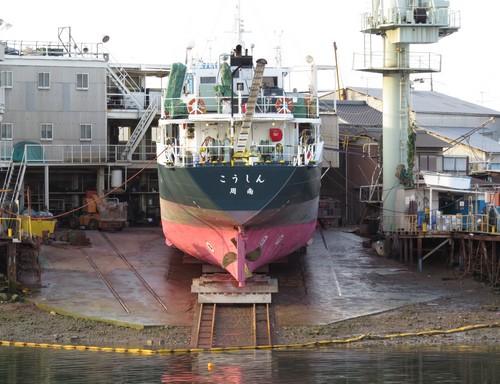 福山市鞆の造船所