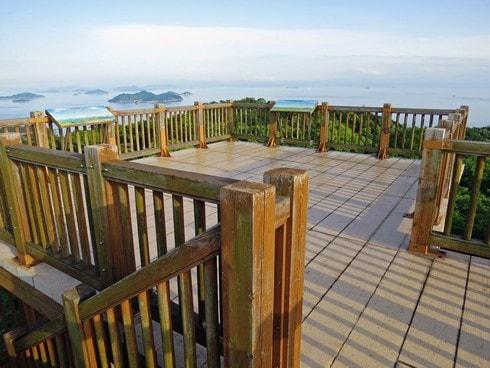福山・鞆からぐるり360度見渡せる瀬戸内展望スポット、後山公園